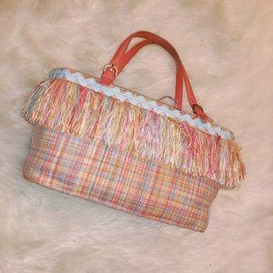 Original MOSCHINO limited edition tassel bag